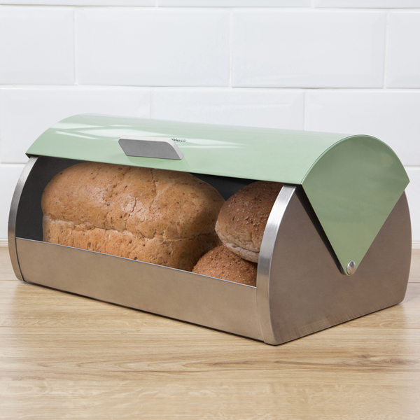 Morphy Richards Bread: Morphy Richards 974001 Accents Bread Bin Roll Top