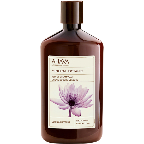 AHAVA Mineral Botanic Velvet Cream Wash - Lotus Flower and Chestnut