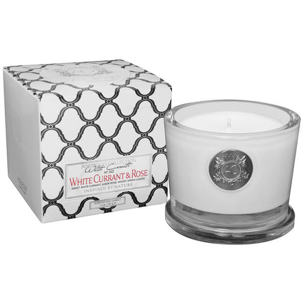 Aquiesse Small Glass Jar Candle - White Currant and Rose
