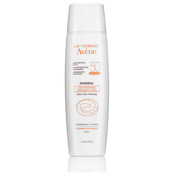 Avène Mineral Light Hydrating Sunscreen Lotion SPF50+ 4.2fl. oz