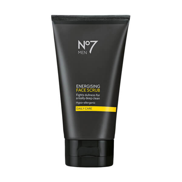 Boots No.7 Men Energising Face Scrub
