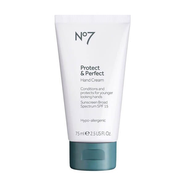 Boots No.7 Protect and Perfect Hand Cream SPF 15