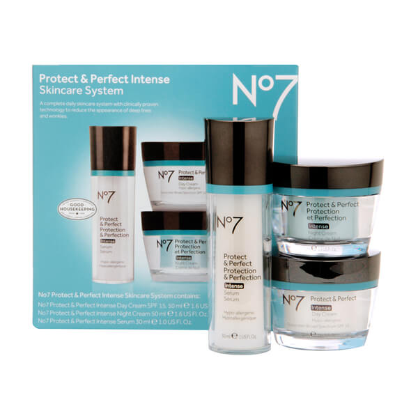 Boots No.7 Protect and Perfect Intense Skincare System Kit ...