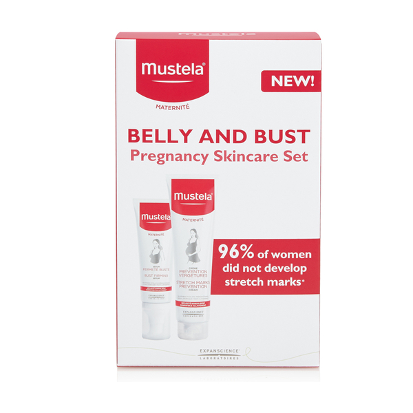 Mustela Belly and Bust Pregnancy Skincare Set