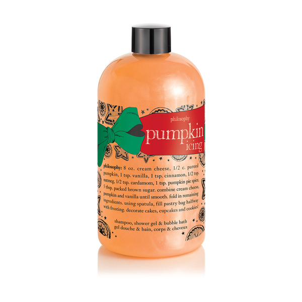 philosophy pumpkin icing shampoo shower gel and bubble philosophy candy cane shampoo shower gel and bubble bath