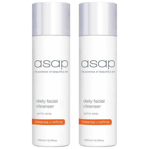 2x asap daily facial cleanser 200ml