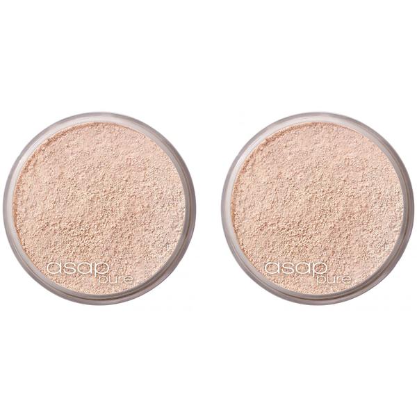 2x asap pure mineral makeup - base