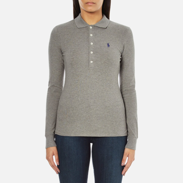 Polo Ralph Lauren Women 39 S Julie Long Sleeve Polo Shirt