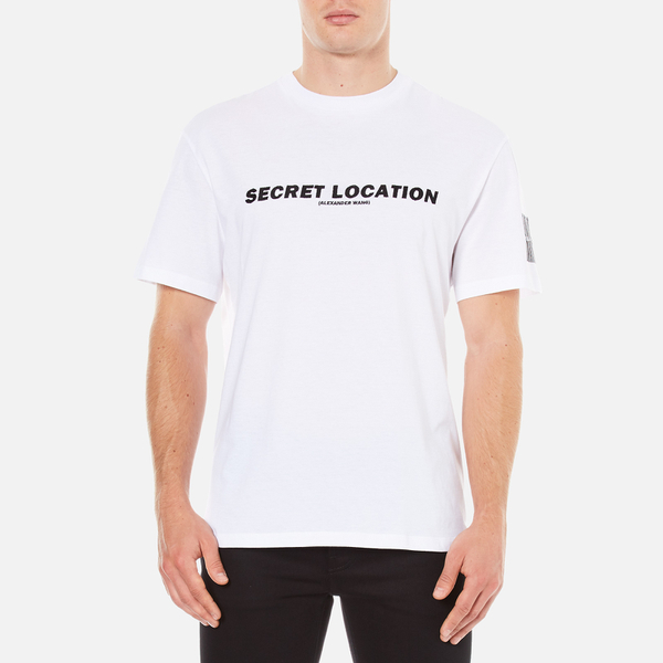 Alexander Wang Men's Mixtape T-Shirt - Black/White