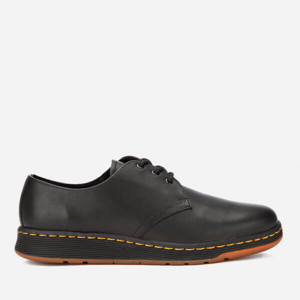 Dr. Martens Cavendish Lite 3-Eye Shoes - Black