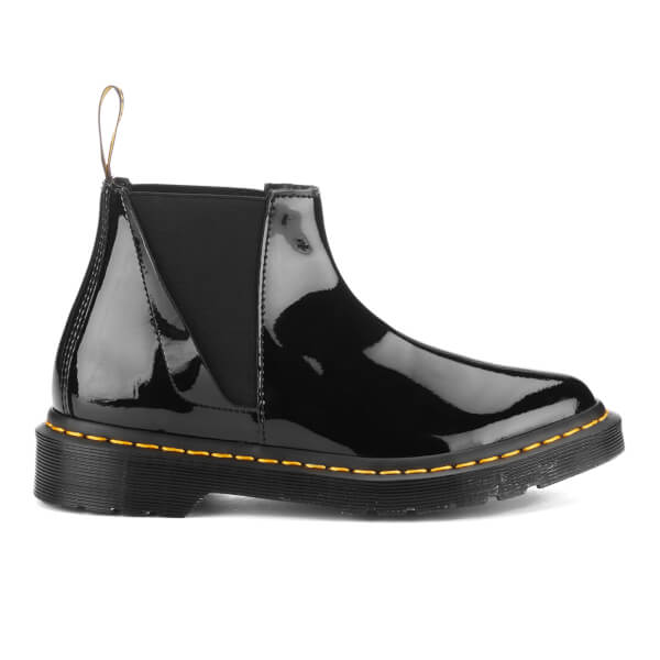 Dr. Martens Women's Pointed Bianca Patent Lamper Chelsea Boots - Black