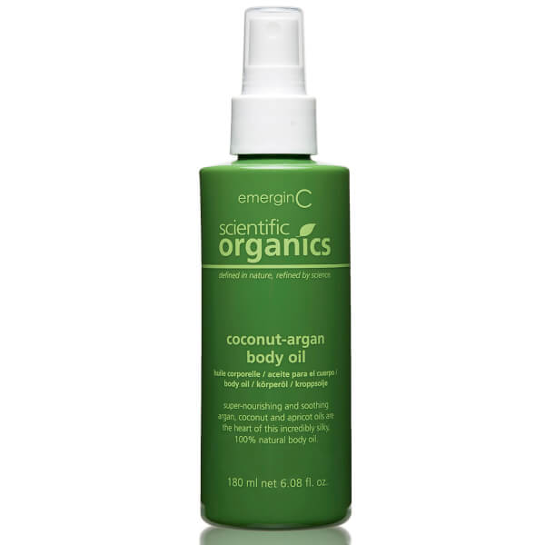 EmerginC Scientific Organics Coconut-Argan Body Oil