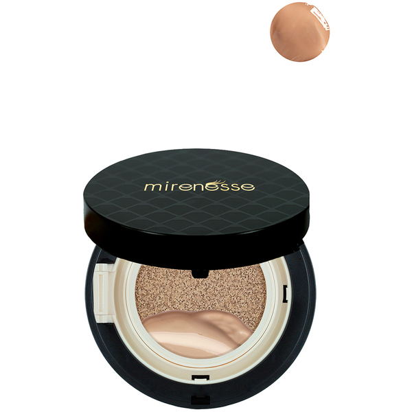 Mirenesse Collagen Cushion Airbrush Compact Powder - Bronze