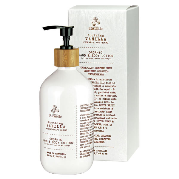 Urban Rituelle Organic Hand & Body Lotion - Vanilla Blend