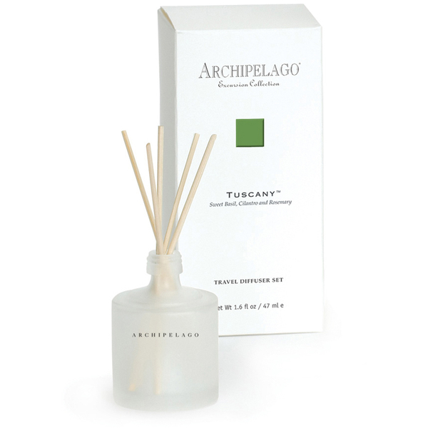 Archipelago Botanicals Excursion Collection Travel Diffuser Set - Tuscany