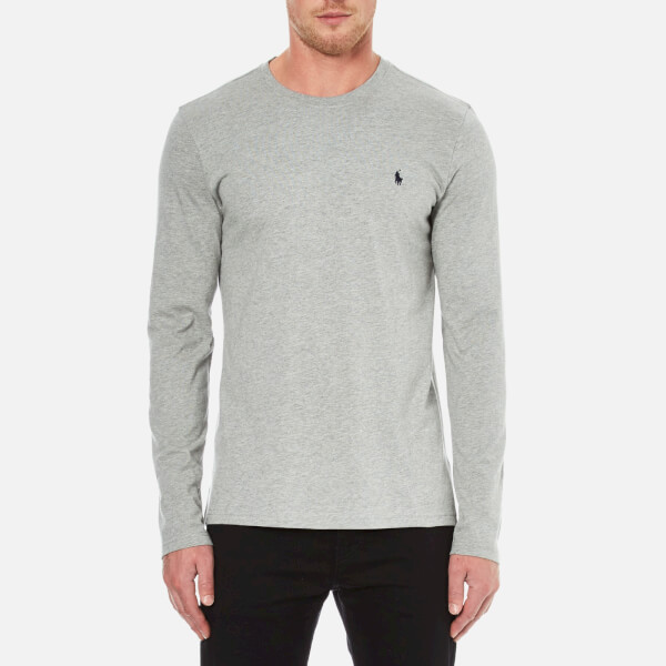 Polo Ralph Lauren Men's Long Sleeve Crew T-Shirt - Heather Grey