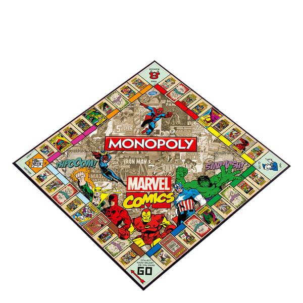 Free Comic Book Day Uk Store Locator: Monopoly - Marvel Comics Retro Edition Toys