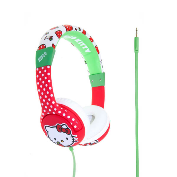 Hello Kitty Children's On-Ear Headphones - Apples