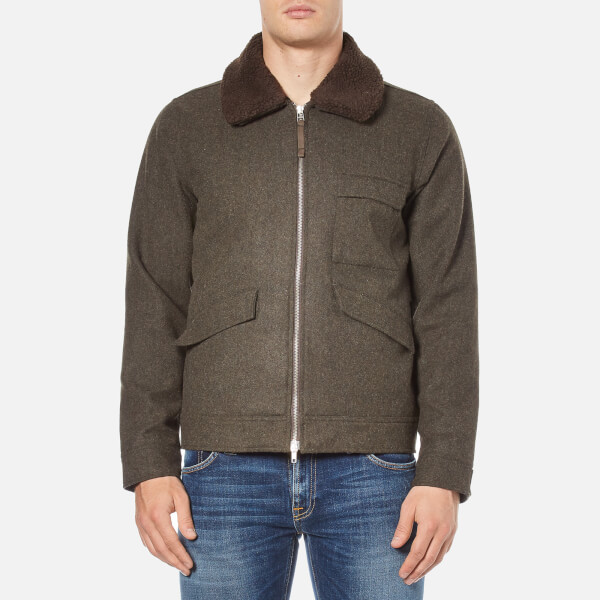Universal Works Men's Battle Jacket - Olive