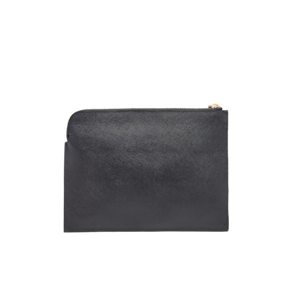 Vivienne Westwood Women's Opio Saffiano Small Clutch Bag - Black ...