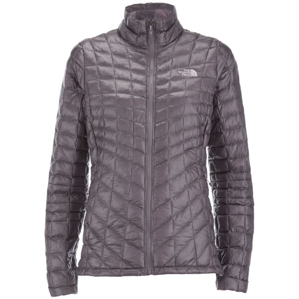 The North Face Women s ThermoBall™ Full Zip Jacket - Rabbit Grey  Image 1 fd70a5a309
