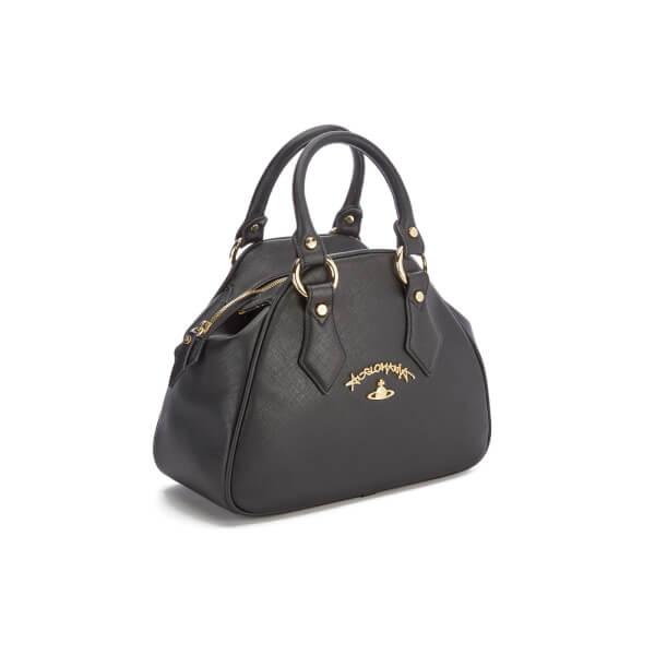 Vivienne Westwood Women s Divina Small Tote Bag - Black  Image 3 d53aa8efe3ca4