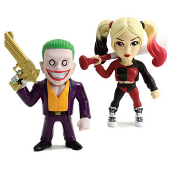 Suicide Squad The Joker & Harley Quinn Metals Diecast Figure (2 Pack)