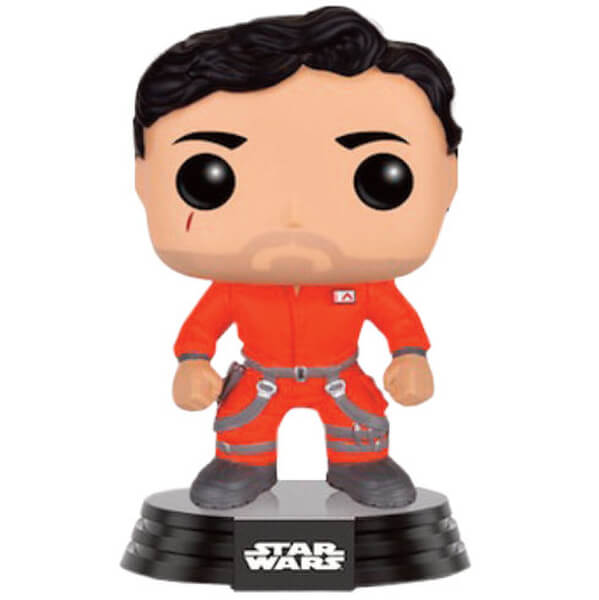 Star Wars Poe Dameron Jumpsuit EXC Pop! Vinyl Figure Bobblehead