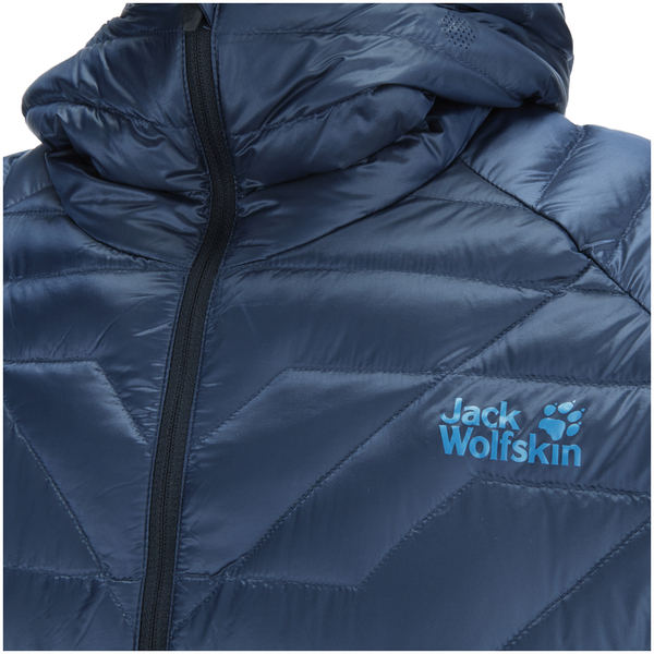 e398b9a70c18 Jack Wolfskin Men s Argo Supreme Down Jacket - Night Blue Kleidung ...