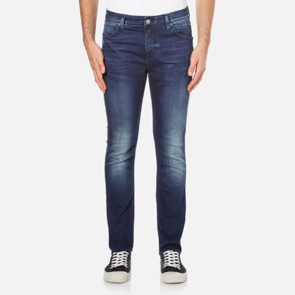 Calvin Klein Men's Body Slim Fit 6 Pocket Jeans - Blue Fountain