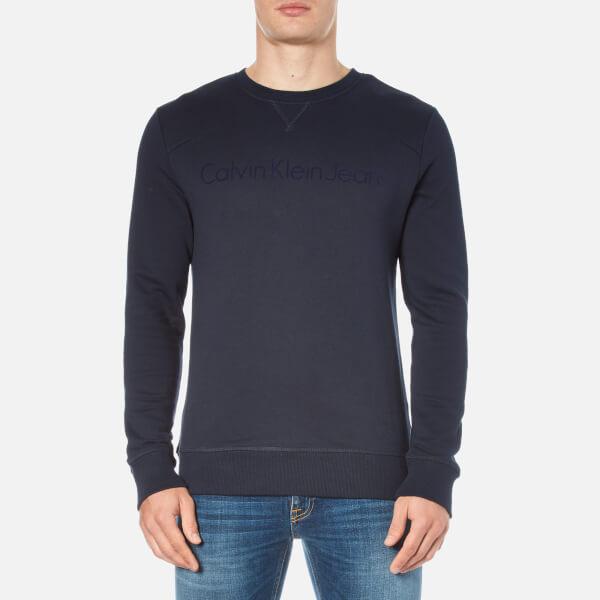 Calvin Klein Men's Harbor Crew Neck Sweatshirt - Night Sky