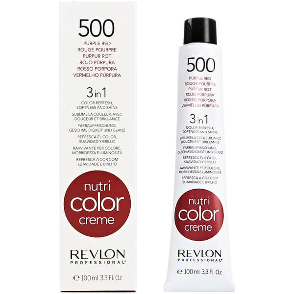 Revlon Professional Nutri Color Creme 500 Purple Red 100ml