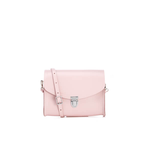 d31e9c05565c The Cambridge Satchel Company Women s Push Lock Cross Body Bag - Dusky  Rose  Image 1