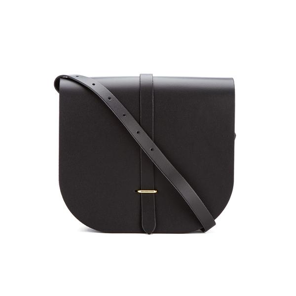 The Cambridge Satchel Company Women's Large Saddle Bag - Black