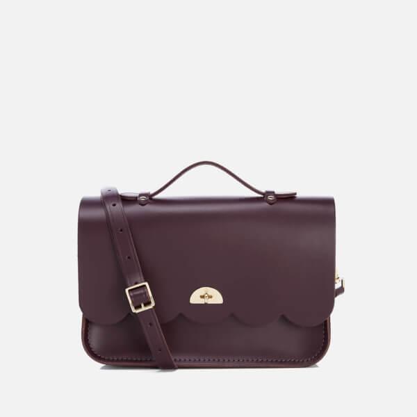 The Cambridge Satchel Company Women's Cloud Bag with Handle - Damson