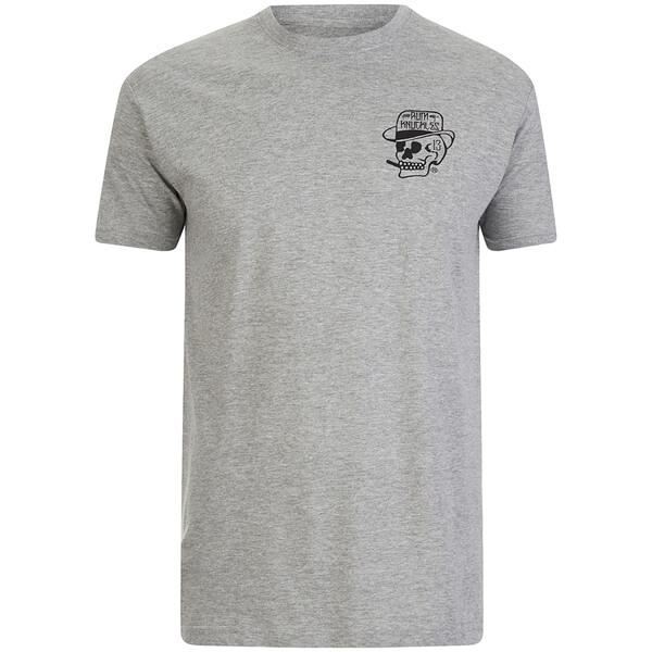 Rum Knuckles Men's Classic Logo T-Shirt - Grey