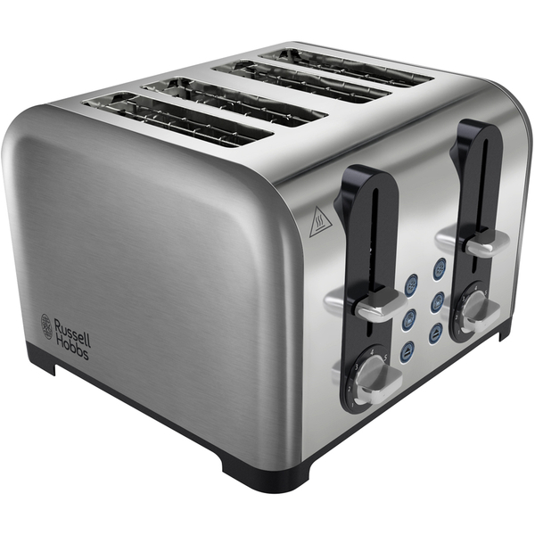 russell hobbs 22400 4 slice toaster chrome iwoot. Black Bedroom Furniture Sets. Home Design Ideas