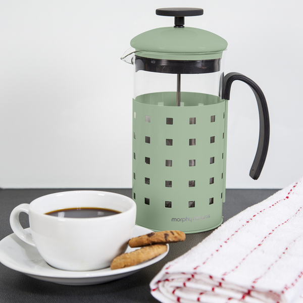 morphy richards accents 8 cup cafetiere sage sage iwoot. Black Bedroom Furniture Sets. Home Design Ideas