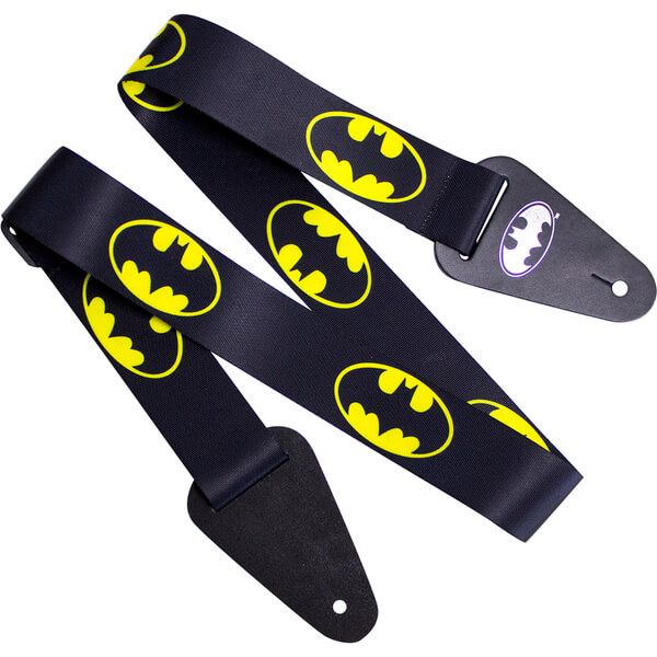 Batman Logo Fabric Guitar Strap