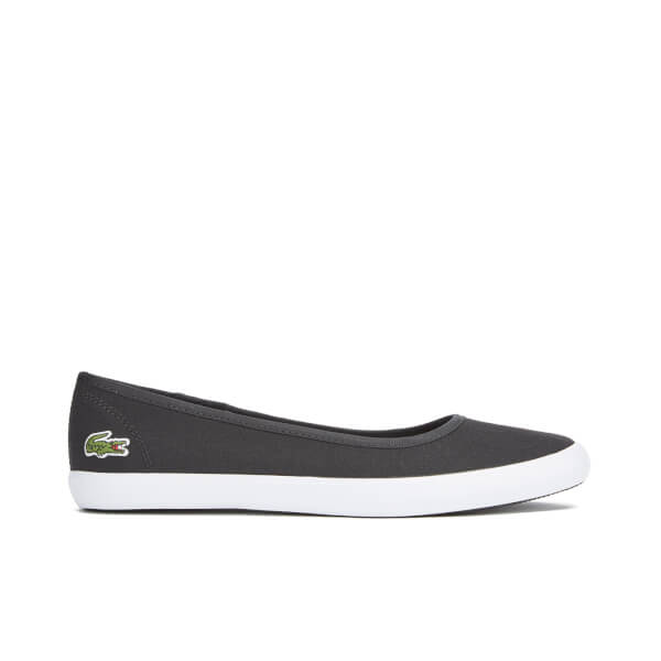 Lacoste Women's Marthe 316 1 Canvas Ballet Pumps - Black