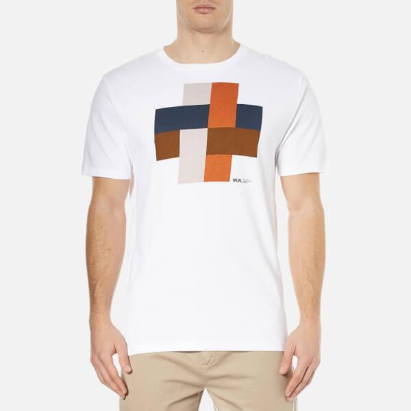 Wood Wood Men's Hashtag T-Shirt - White