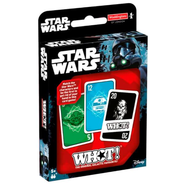 Top Card Tuck Box - Star Wars Whot!