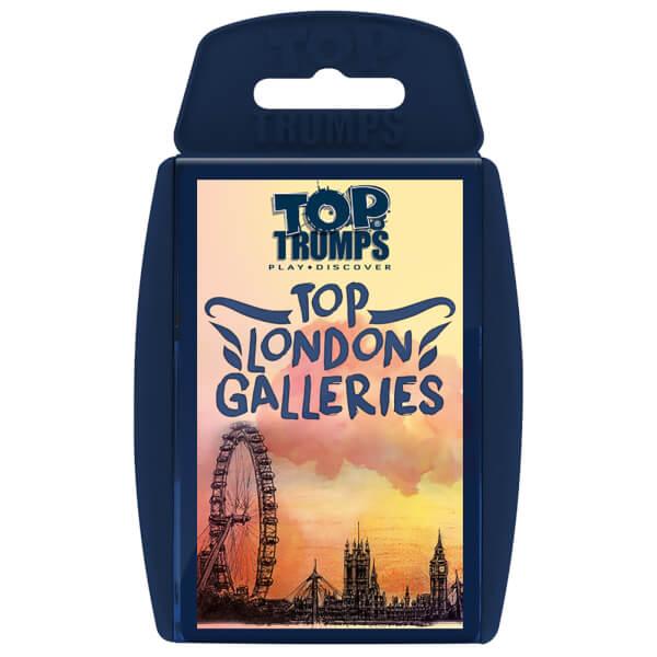 Classic Top Trumps - Top London Galleries