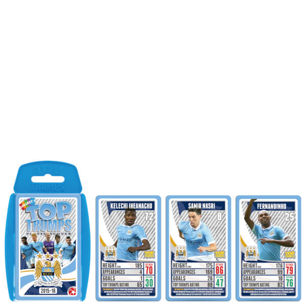 Top Trumps Specials - Manchester City FC 2015/16