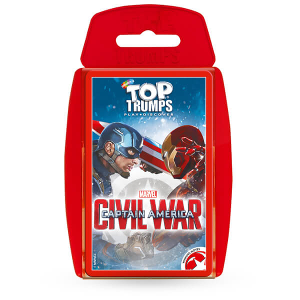 Top Trumps Specials - Captain America: Civil War