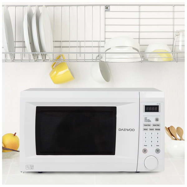 Daewoo KOR1NOA Family Touch Control Microwave - White | IWOOT