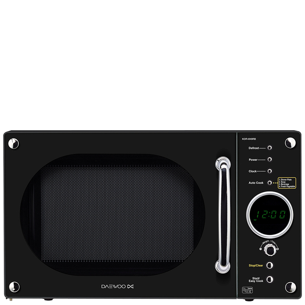 Daewoo KOR6N9RB 20L Touch Control Microwave - Black | IWOOT