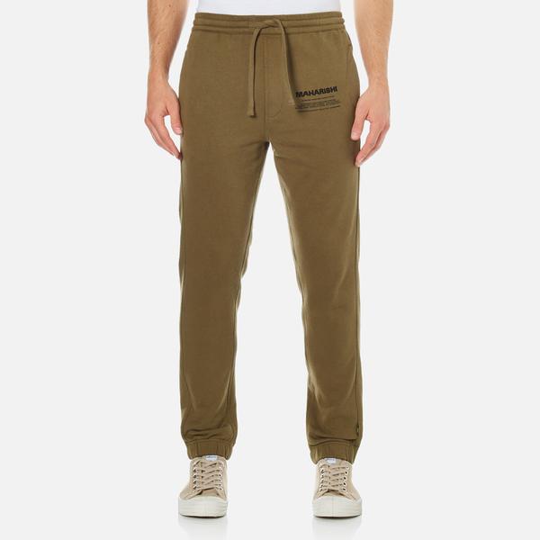Maharishi Men's Organic Loopback Sweatpants - Maha Olive