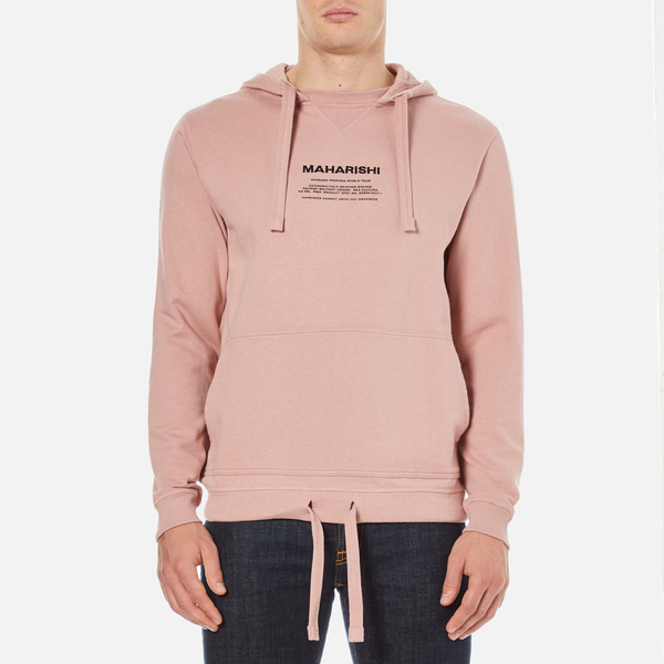 Maharishi Men's Miltype Hooded Sweatshirt - Pink Panther