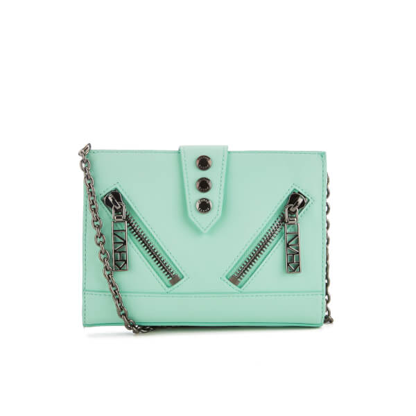 KENZO Women's Kalifornia Wallet On A Chain - Mint